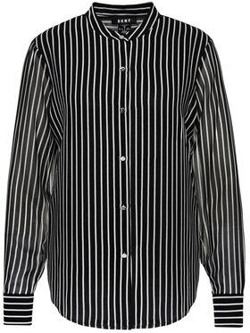 DKNY DKNY Koszula P9FAGB5T Czarny Regular Fit
