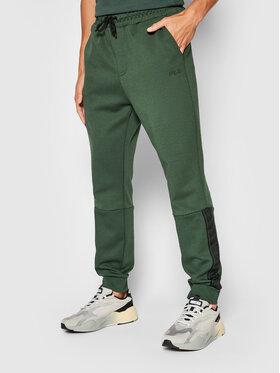 Fila Fila Spodnie dresowe Omer 683479 Zielony Regular Fit