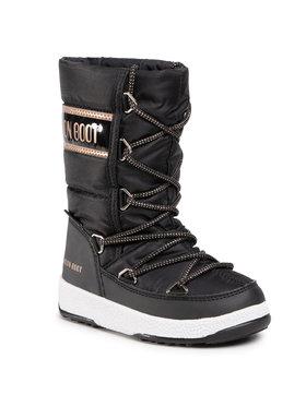 Moon Boot Moon Boot Bottes de neige Jr G. Quilted Wp 34051400005 M Noir