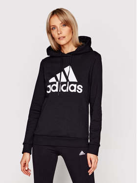 adidas adidas Μπλούζα W Bl Fl Hd GL0653 Μαύρο Regular Fit