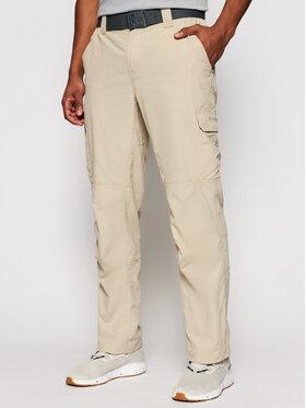 Columbia Columbia Outdoorové kalhoty Silver Ridge II 1794901 Béžová Regular Fit