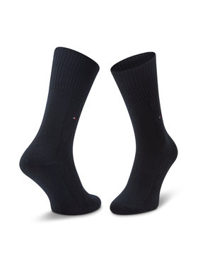 Tommy Hilfiger Tommy Hilfiger Dámské klasické ponožky 100000859 Tmavomodrá