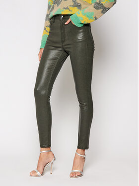 Guess Guess jeansy Skinny Fit W0BA26 WDCA1 Verde Skinny Fit