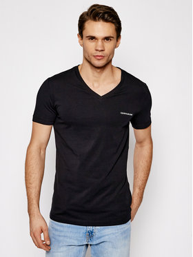Calvin Klein Jeans Calvin Klein Jeans T-Shirt J30J318068 Černá Regular Fit