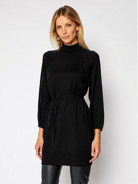 Marella Marella Úpletové šaty Markus 33260209200 Čierna Regular Fit
