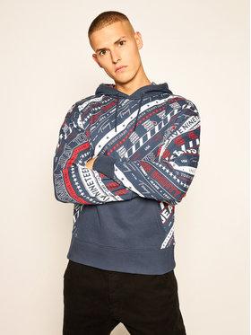 Tommy Jeans Tommy Jeans Sweatshirt Tjm Aop DM0DM09434 Dunkelblau Regular Fit