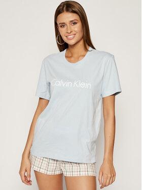 Calvin Klein Underwear Calvin Klein Underwear T-Shirt 000QS6105E Niebieski Regular Fit