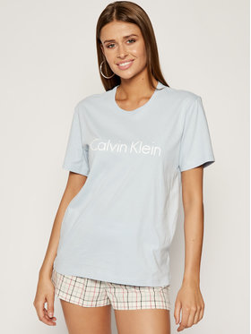 Calvin Klein Underwear Calvin Klein Underwear Tricou 000QS6105E Albastru Regular Fit
