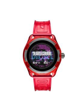 Diesel Diesel Chytré hodinky Fadelite DZT2019 Červená