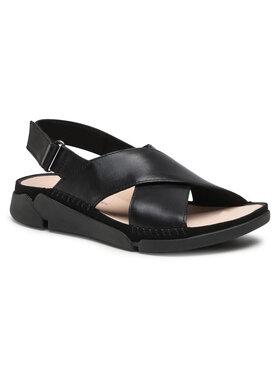 Clarks Clarks Sandále Tri Alexia 261479334 Čierna