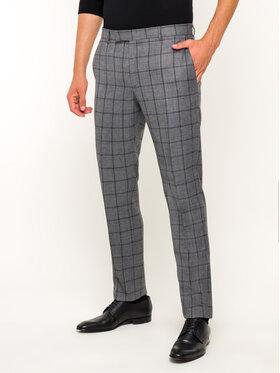 Strellson Strellson Kostiuminės kelnės 30019289 Pilka Slim Fit