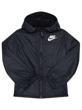 NIKE NIKE Pehelykabát Sportswear CU9152 Fekete Standard Fit