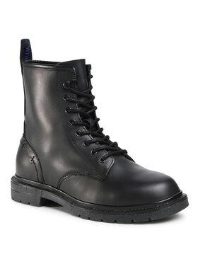 Wrangler Wrangler Μπότες Spike Mid WM02040A Μαύρο