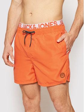 Jack&Jones Jack&Jones Pantaloni scurți pentru înot Bali 12183795 Portocaliu Regular Fit
