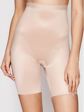 SPANX SPANX Shapewear Unterteil Thinstincts 2.0 High Waist Mid-Thigh 10233R Beige