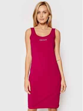 DKNY Sport DKNY Sport Hétköznapi ruha DP1D4465 Rózsaszín Slim Fit