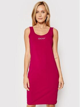 DKNY Sport DKNY Sport Kasdieninė suknelė DP1D4465 Rožinė Slim Fit