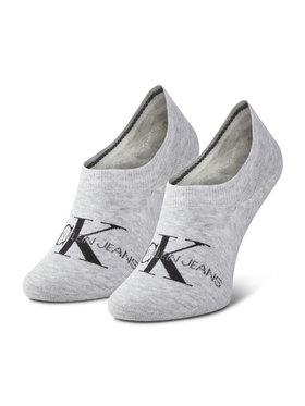 Calvin Klein Jeans Calvin Klein Jeans Dámské kotníkové ponožky 100001769 Šedá
