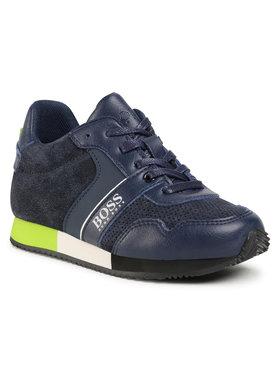 Boss Boss Sneakersy J29225 S Tmavomodrá