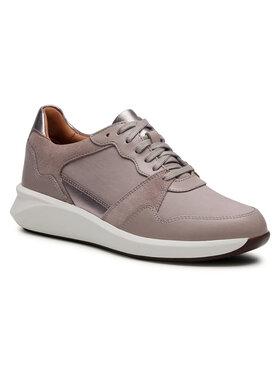 Clarks Clarks Sneakersy Un Rio Run 261554114 Beżowy