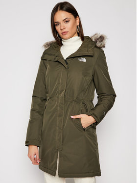 The North Face The North Face Parka Zaneck NF0A4M8Y21L1 Zöld Regular Fit