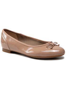 Clarks Clarks Baleríny Couture Bloom 261339925 Béžová
