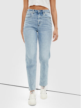 American Eagle American Eagle Jeansy 043-0436-3455 Niebieski Relaxed Fit