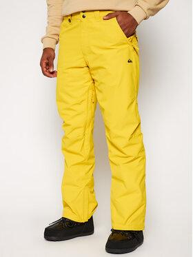 Quiksilver Quiksilver Lyžařské kalhoty Estate EQYTP03146 Žlutá Modern Fit