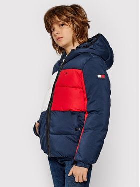 Tommy Hilfiger Tommy Hilfiger Giubbotto piumino Flag KB0KB05990 D Blu scuro Regular Fit