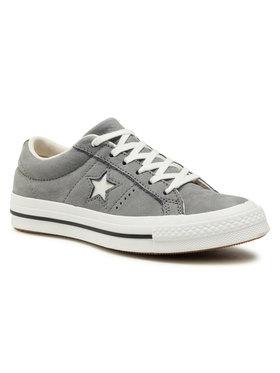 Converse Converse Sneakers aus Stoff One Star Ox 161584C Grau