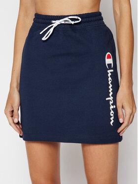 Champion Champion Mini suknja Vertical Script Logo 112649 Tamnoplava Custom Fit