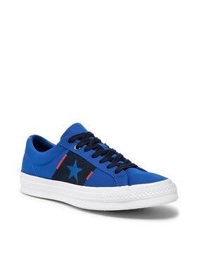 Converse Converse Sneakers aus Stoff One Star Ox 165057C Dunkelblau