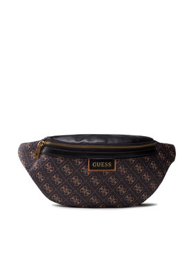 Guess Guess Чанта за кръст Vezzola (4G Print) HMVEZL P1130 Кафяв