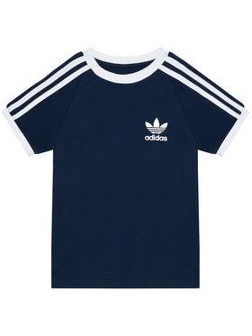 adidas adidas T-shirt 3-Stripes GN8218 Blu scuro Standard Fit