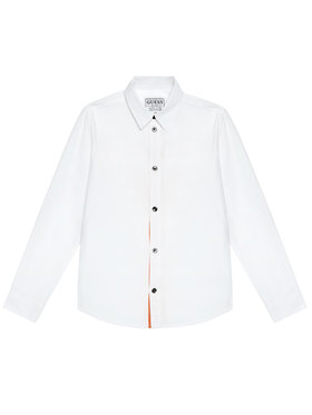 Guess Guess Camicia L1RH01 WDLI0 Bianco Regular Fit