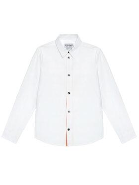 Guess Guess Πουκάμισο L1RH01 WDLI0 Λευκό Regular Fit