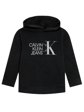 Calvin Klein Jeans Calvin Klein Jeans Суитшърт Hybrid Logo IB0IB00799 Черен Regular Fit