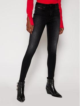 Tommy Jeans Tommy Jeans Blugi Super Skinny Fit Sylvia DW0DW09003 Negru Super Skinny Fit