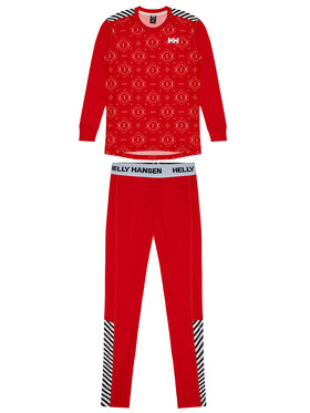 Helly Hansen Helly Hansen Set di biancheria intima termica JR Lifa Active Set 48647 Rosso Regular Fit