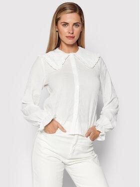 Noisy May Noisy May Koszula Sigrid 27020315 Biały Regular Fit