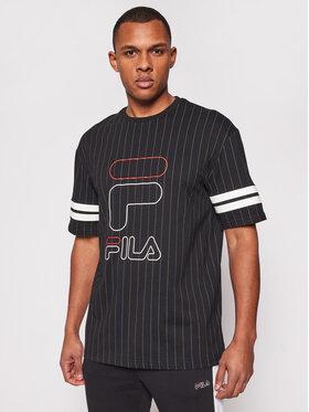 Fila Fila T-Shirt Jamiro 683270 Černá Relaxed Fit