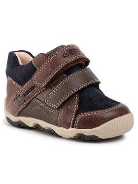 Geox Geox Šnurovacia obuv B N.Balu B. A B940PA 0MW22 C0947 Hnedá