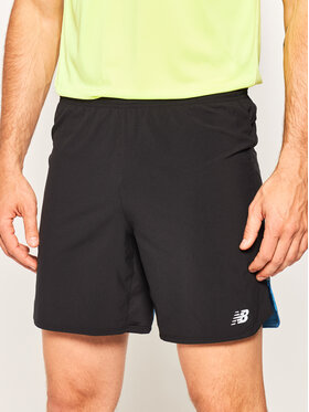 New Balance New Balance Sportske kratke hlače Impact Run MS01243 Crna Athletic Fit