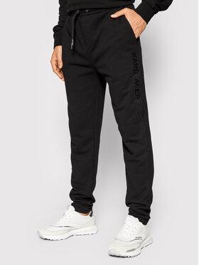 KARL LAGERFELD KARL LAGERFELD Spodnie dresowe Sweat 705042 512910 Czarny Regular Fit