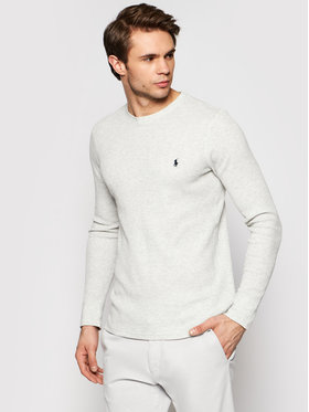 Polo Ralph Lauren Polo Ralph Lauren Marškinėliai ilgomis rankovėmis Crw 714830284003 Pilka Regular Fit