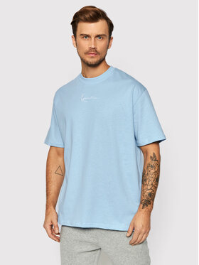Karl Kani Karl Kani T-Shirt Small Signature 6030932 Blau Relaxed Fit