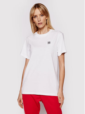 adidas adidas T-Shirt Loungewear adicolor Classics GN2924 Bílá Loose Fit