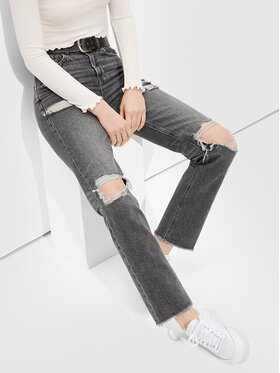 American Eagle American Eagle Jeans 043-3437-3176 Grau Relaxed Fit