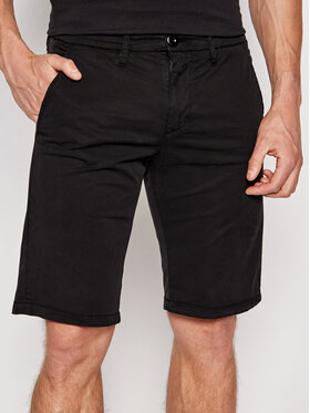 Guess Guess Short en tissu M1GD18 WDT21 Noir Regular Fit