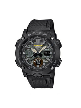 G-Shock G-Shock Hodinky GA-2000SU-1AER Černá